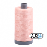 Aurifil 28 Cotton Thread - 2420 (Pale Peach)